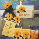 The Needlecraft Shop Chef's Choice 1997 Plastic Canvas Pattern Leaflet #974007 Black-Eyed Susans