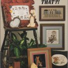 Stoney Creek 1987 Cross Stitch Pattern Book 45 Who Said That?!