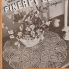 Clark's 1940s Crochet Pattern Book No.230 Doilies Tablecloths Bedspreads Runners Pineapple Designs