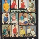 Brunswick Wonderland Children's Classics Mothers Love 1979 Knitting Pattern Book Vol. 656