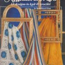 Needleworks 1981 Knit & Crochet Pattern leaflet No.108 For Afghan Lovers 12 designs