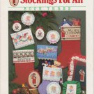 Dimensions Nancy Rossi Book Three 1987 Cross Stitch Pattern #132 Stockings For All