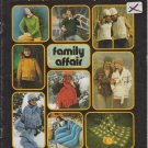 Brunswick 1975 Knitting & Crochet Pattern Book Vol.754