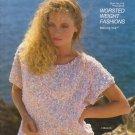 Bernat Worsted Weight Fashions 1987 Knitting Pattern Book No.616