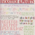 Leisure Arts 1994 Cross Stitch Leaflet 21 More Backstitch Alphabets #2618