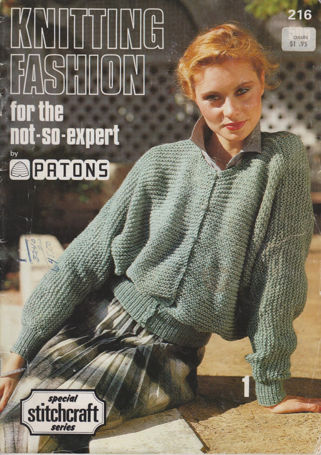 Patons Knitting Fashion 1979 Pattern Booklet #216