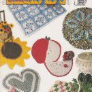 Annie's Attic 1994 Crochet Rag Rugs Patter Leaflet #87R78