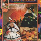 Fibre-Craft Spooky Treasures Pattern #FCM426 Crochet Outfits For 5.5 Inch Air Freshener Witch