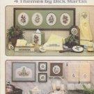 Leisure Arts #410 Bath Collections 1985 Cross Stitch Pattern Leaflet