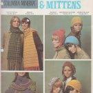 Columbia-Minerva Knit & Crochet Pattern Leaflet #2515 Hats, Scarfs & Mittens