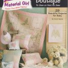 Jeanette Crews Designs #15108 Baby Boutique 2002 Pattern Booklet
