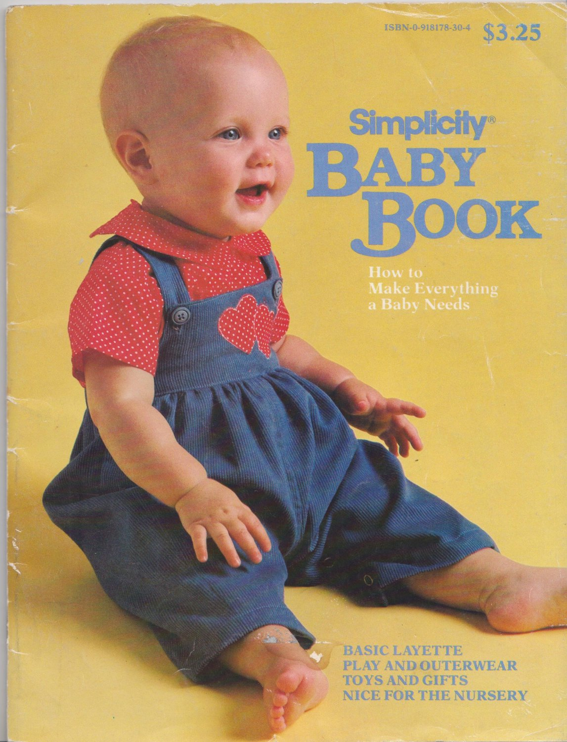 Simplicity Baby Book How To Make Everything A Baby Needs by Susan P. Curtis