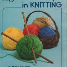 American School of Needlework 1983 Booklet #5102 First Steps in Knitting by Mary Thomas