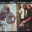Bernat 1974 Knitting Book No.209 For The Family in Icespun Yarn or Krysta Yarn