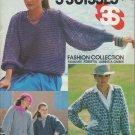 Bucilla 3 Suisses Fashion Collection 1980 Knit & Crochet Pattern Book Volume 7301