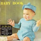 PK Baby Book Vintage 1940s/1950s Knitting Pattern Book