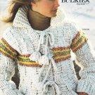 Bernat 1977 Knitting and Crochet Pattern Book Bounty of Bulkies Handicrafter No. 236
