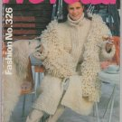 Neveda Fashion No. 326 Vintage Knitting Pattern Book