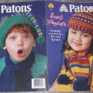 Patons Knitting Pattern Book #751 Small Wonders trendy accessories for cool kids