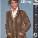 Vogue Knitting 1982 Adrienne Vittadini Pattern #103 The Color Marbled Cardigan