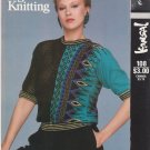 Vogue Knitting 1982 Kansai Pattern #108 Two-Tone Jacquard Pullover Sweater