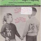 Mary Maxim Vintage 1960s Knitting Pattern No.614 Three Bears