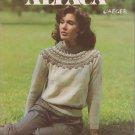 Susan Bates Jaeger Alpaca 1982 Knitting Pattern No.17625