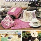 Leisure Arts 1991 Crochet Pattern Leaflet #2077 Dishcloths 16 designs