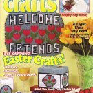 Quick & Easy Crafts Magazine April 1995 Volume 28 Number 2