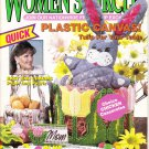 Women's Circle March/April 1991 Plastic Canvas Magazine Volume 34 Number 2