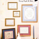 Celebrate Love... Weddings & Anniversaries 1987 Cross Stitch Pattern Leaflet #110