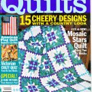 Country Quilts Winter 2002 Volume 17 Number 3 Quilting Magazine