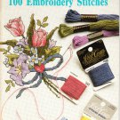Anchor J & P Coats Book #98 How to Embroider 100 Embroidery Stitches