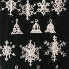 Annie's Attic 1990 Crochet Lacy Thread Accents For Wreaths Mobiles And Ornaments