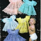 Annie's Attic Baby's Heirloom Wardrobe 1983 Crochet Pattern Booklet #87H30