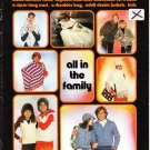 Brunswick All In The Family 1977 Knitting & Crochet Pattern Booklet vol. 755