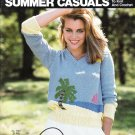 Bucilla Summer Casuals 1983 Knitting & Crochet Pattern Booklet Volume 70