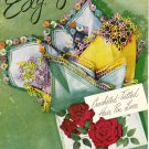 American Thread Star Book No.81 Edgings Crocheted Tatted Hair Pin Lace 1951 Pattern Booklet