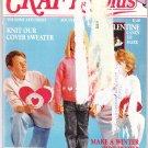 Crafts Plus The Home Arts Digest Jan/Feb 1988 Magazine No.1 Vol.4