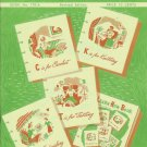 Coats & Clark's 1952 Learn How Book No. 170-A Knitting Crochet Embroidery Tatting
