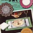 Crochet Charm with Famous D-M-C Cottons 1950 pattern book Vol 401