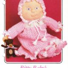 Annie's Bitty Baby's Nightgown Set 1986 Crochet Pattern #87F61
