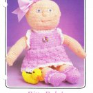 Annie's 1986 Crochet Pattern #87F63 Bitty Baby's Frilly Sun Dress
