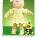 Annie's 1986 Crochet Pattern #87F68 Bitty Baby's Summer Dress