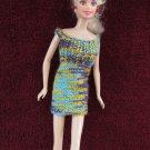 Doll Dress 11.5 Inch Fashion Dolls Short Multicolor Mini Dress