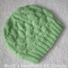 Lime Green Baby/Toddler Beanie Hat #2 HandKnit