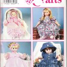 "Simplicity Crafts 1994 Sewing Pattern 0600 Doll Clothes All Sizes 12""-22"" Uncut"