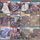 The Needlecraft Shop Afghan Collector's Series Crochet Patterns 12 Pattern Sheets