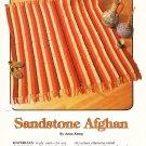 Annie's Attic 1984 Crochet Pattern# 87A67 Sandstone Afghan