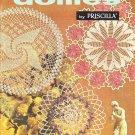 Coats & Clark's 1961 Crochet Pattern Book No.122 Doilies by Priscilla